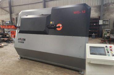 4mm-12mm هیدرولیک CNC د بار بار، ریبر موجودي ماشین، د موټرو د اتوماتیک پوټک ویرول