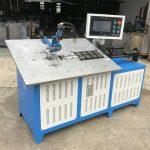 ګرم خرڅلاو په اتوماتيک ډول 3D فلز تار د ماشین CNC جوړول، د 2 تار تار د موجودي ماشین قیمت