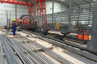 په چین کې جوړ شوی ساده عملی پایښت او پیاوړتیا کیفیت تضمین د فولاد ریبر د کیج ویلډینګ ماشین او د کجکي پیاوړي کول